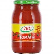 Томаты в томатной заливке «АВС» 880 г.