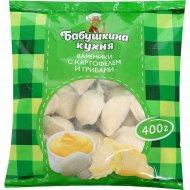 Вареники с картофелем и грибами «Бабушкина кухня» замороженные, 400 г