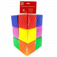 Набор строительный «Кубович» 12 кубиков.