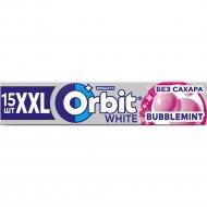 Жевательная резинка «Orbit» белоснежный bubblemint XXL, 20.4 г.
