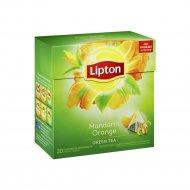 Чай зеленый «Lipton» цитрус 20 пакетиков.