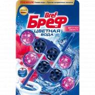Туалетный блок «Bref» Color Aktiv, цветочная свежесть, 2х50 г