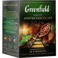 Чай черный «Greenfield» Mint & Chocolate, 20х1.8 г.