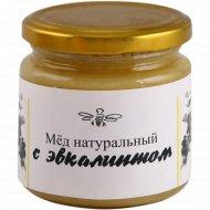 Мед натуральный с эвкалиптом, 250 г.