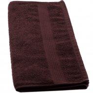 Полотенце «Barakat-Tex» 50-90BS-915, горький шоколад, 50х90 см