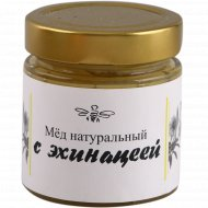 Мед натуральный с эхинацеей, 250 г.
