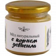 Мед натуральный с корнем девясила, 250 г.