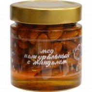 Мед натуральный с миндалем, 240 г.