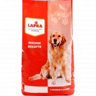 Корм сухой для собак «Lapka» мясное ассорти, 2.2 кг.