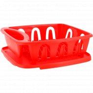 Cушилка для посуды «Люкс» с поддоном, 360х310х125 мм.