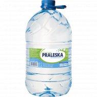 Вода питьевая «Praleska» негазированная, 5.55 л.