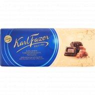 Шоколад молочный «Karl Fazer» с соленой карамелью, 200 г