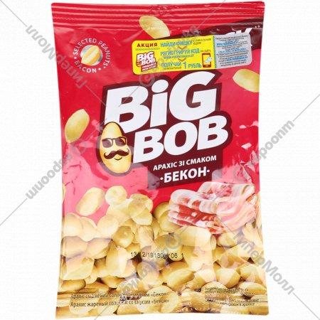 Арахис жареный «BigBob» соленый со вкусом бекона, 130 г.