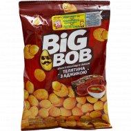Арахис жареный «Big Bob» со вкусом телятины с аджикой, 90 г.
