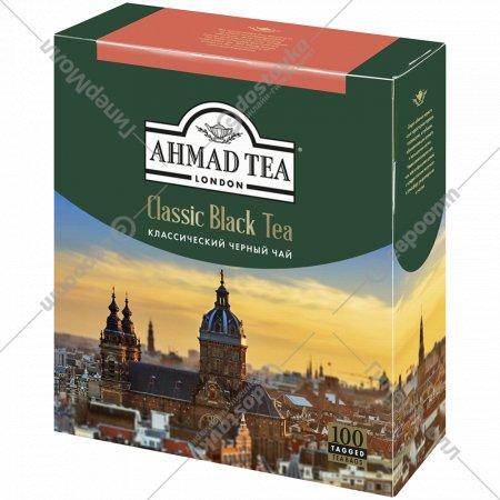 Чай черный «Ahmad» классический, 100х2 г.