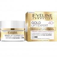 Крем-сыворотка «Gold Lift Expert» 40+, с 24К золотом, 50 мл.