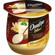 Десерт «Даниссимо» Deluxe, каталонский крем-брюле, 4.7%, 160 г.