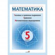 Книга «Математика в 5 классе, численные и буквенные выражения».