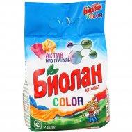 Порошок стиральный «Биолан» сolor, автомат, 2.4 кг.