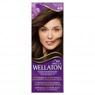 Краска для волос «Wellaton» тёмный шоколад, 4/0.