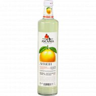 Напиток безалкогольный «Ascania» со вкусом лимона, 0.5 л.