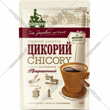 Цикорий «Bionova» традиционный, 100 г.