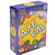 Игра для веселой компании «Дубль. Овощи-фрукты».