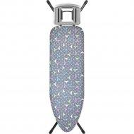 Чехол для гладильной доски «Eva» Е13113, серый, 156х53 см