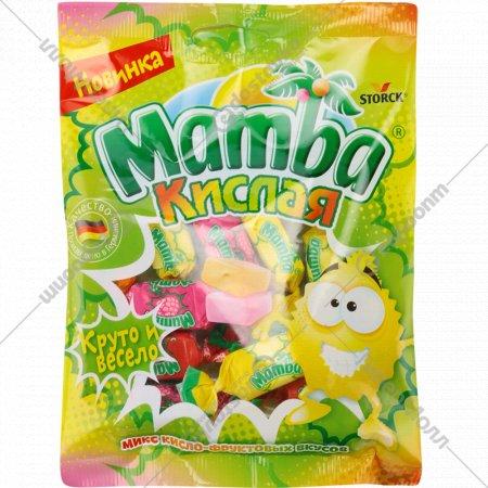 Конфеты жевательные «Mamba» микс кисло-фруктовых вкусов, 70 г.