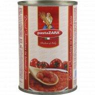 Томаты очищенные кусочками «Pasta Zara» в собственном соку, 400 г.