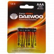 Батарейка «Daewoo», 4 шт.