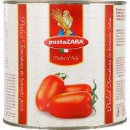 Томаты очищенные «Pasta Zara» 2550 г.