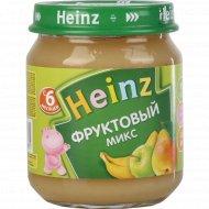 Пюре «Heinz» фруктовый микс, 120 г.