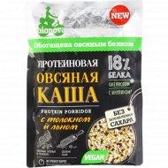 Овсяная каша «Bionova» протеиновая, с толокном и льном, 40 г.