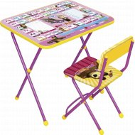 Комплект детской мебели «Маша и медведь» Ф1А.