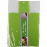 Пластиковая разделочная доска, 33х21 см.