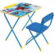 Комплект детской мебели «Marvel-2» Человек-паук Д2Ч.