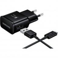 Зарядное устройство «Samsung» EP-TA20EBECGRU, черное