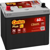 Аккумулятор автомобильный «Centra» Plus CB605, 60Ah