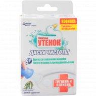 Диски для очистки унитазов «Туалетный утенок» эвкалипт, 6 шт.