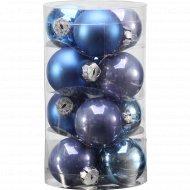 Набор шаров для ёлки 4 см, 12 шт.