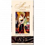 Экстра горький шоколад «Ameri» 85% какао, 100 г.