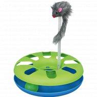 Игра «Trixie» для кошки с пушистой мышкой, 24х29 см.