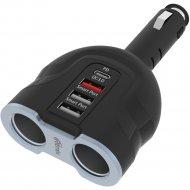 Автомобильное зарядное устройство «Ritmix» RM-24XQPD.