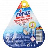 Чистящее средство «Rorax» для сливных труб, гранулы, 60 г.