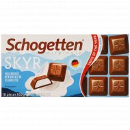 Шоколад молочный «Schogetten» скандинавский йогурт, 100 г.