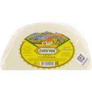 Сыр «Сулугуни» традиционный 45-52%, 1 кг., фасовка 0.4-0.5 кг