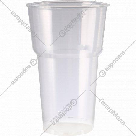 Набор одноразовых стаканов премиум-класса, 0.5 л, 50 шт.
