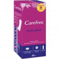 Салфетки женские гигиенические «Carefree» large plus, 20 шт.