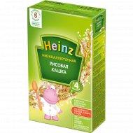 Кашка рисовая, безмолочная «Heinz» низкоаллергенная, 160 г.